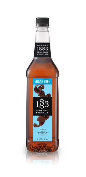 1883 Chocolate Sugar Free Syrup 1L Plastic Bottle
