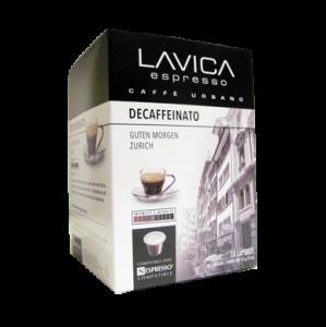 Lavica DEFAFFEINATO Capsules - Espresso - Box of 10