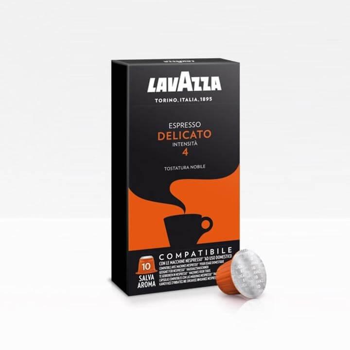 Lavazza Delicato Nespresso Compatible Capsule Box of 10