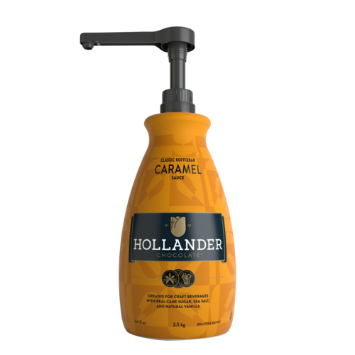 Hollander Classic Caramel Sauce 64oz 1.89L