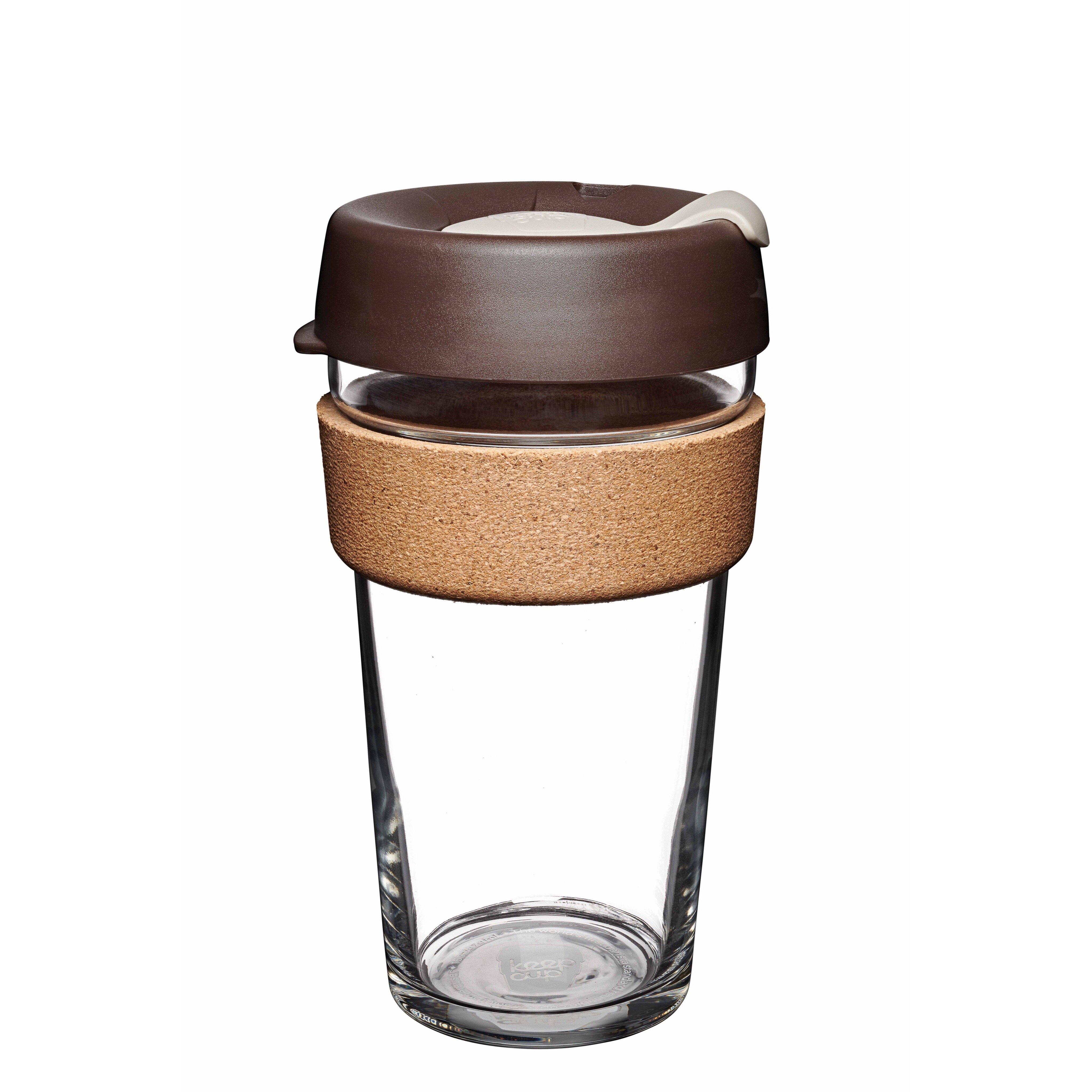 KeepCup Brew Cork 16oz - Almond