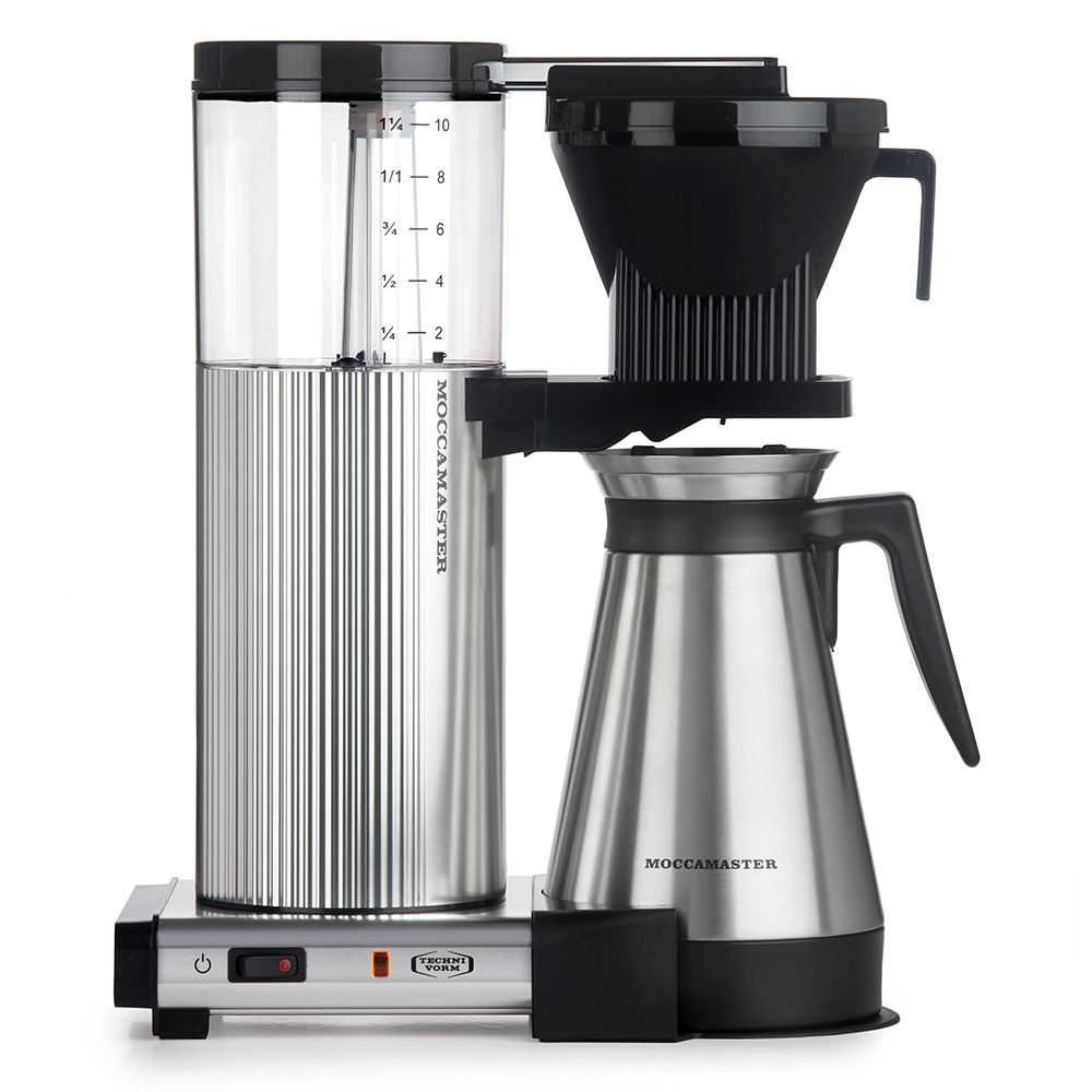 Technivorm Moccamaster CDGT Brewer Thermal Carafe Polished Silver - 89912