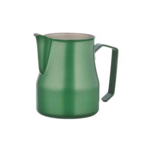 Motta Professional Milk Pitcher MATTE GREEN 50cl. (500ml/17oz) Stainless Steel Inox 18/10