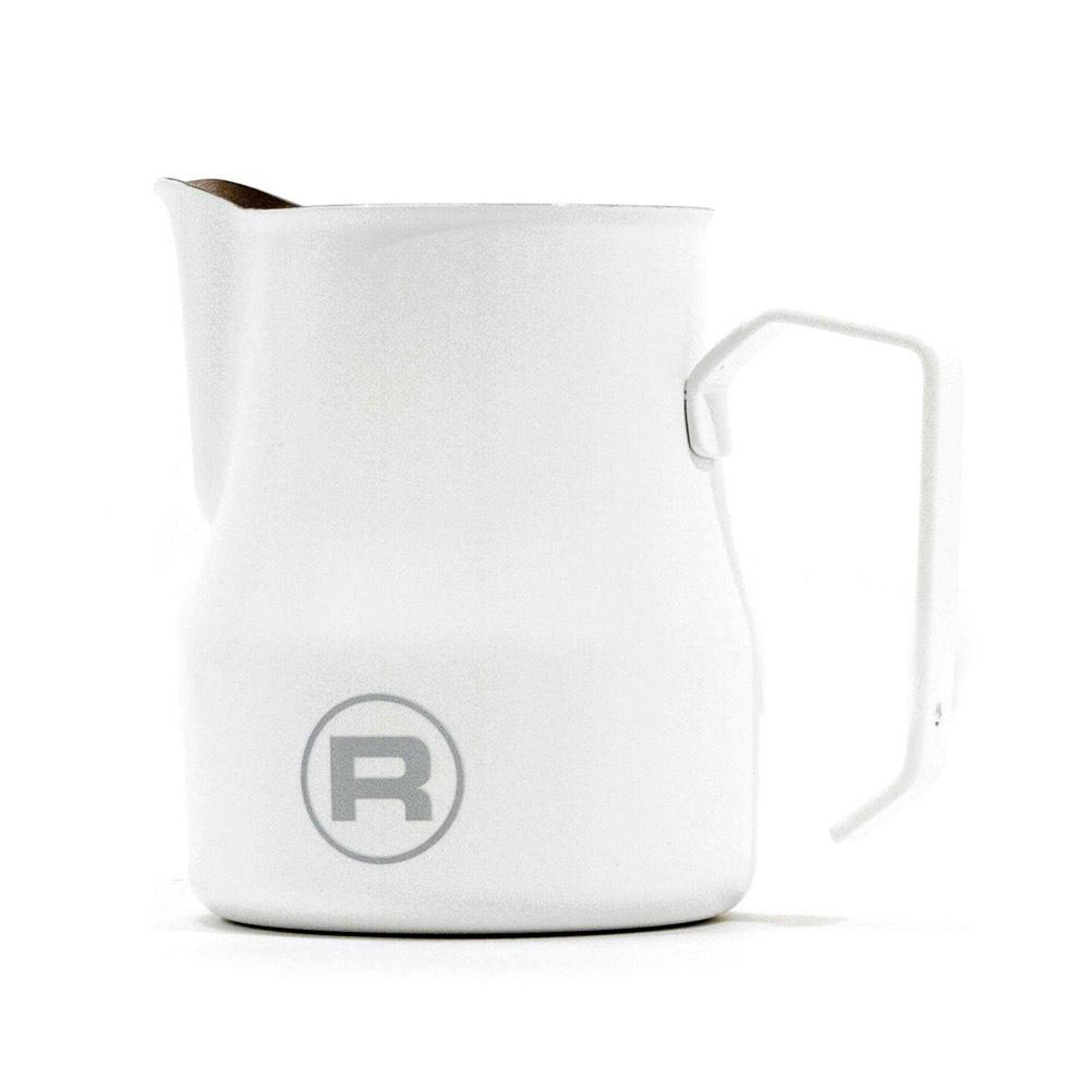 Rocket Logo Frothing Pitcher - 500ml - White