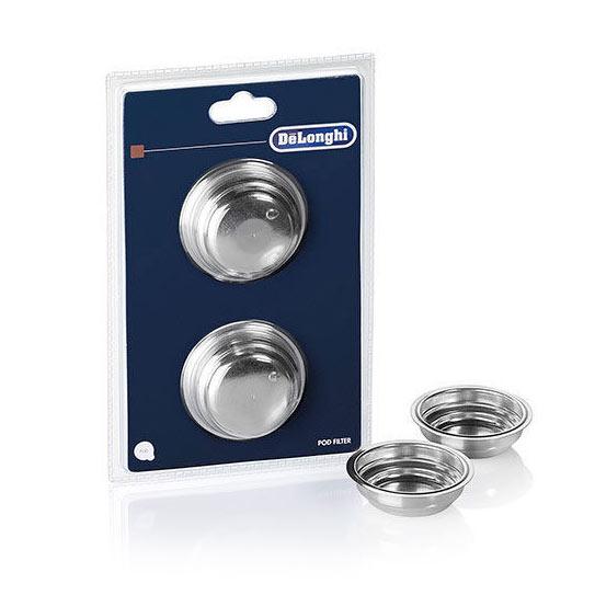 Delonghi Espresso One Cup Filter Basket - Set of 2 - 5513298041