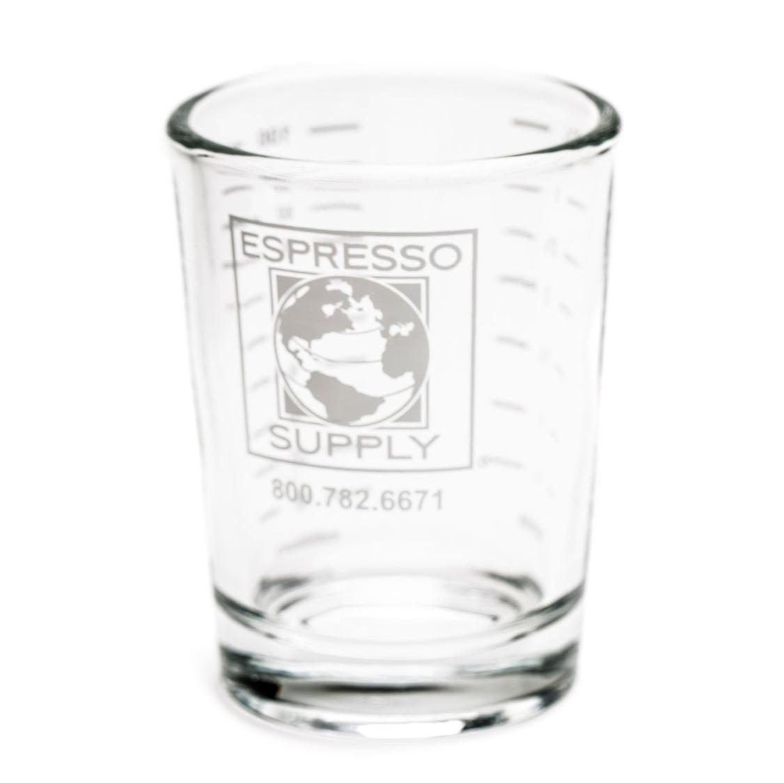 Espresso Supply / Rattleware 4oz Logo Shot Glass