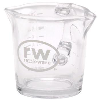 Rattleware 3oz Logo Shot Pitcher, Glass