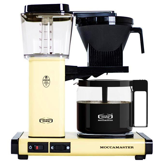 Technivorm Moccamaster KBG Brewer Glass Carafe Butter Yellow - 53953