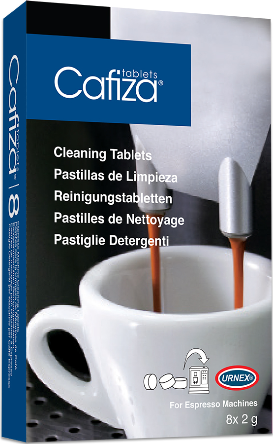 Urnex Cafiza 8 Pack of Cleaning Tablets