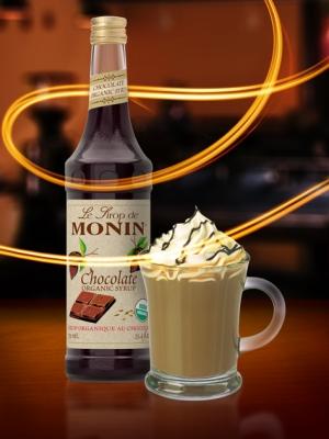 Monin Organic Chocolate Syrup (EXP FEB 2020)