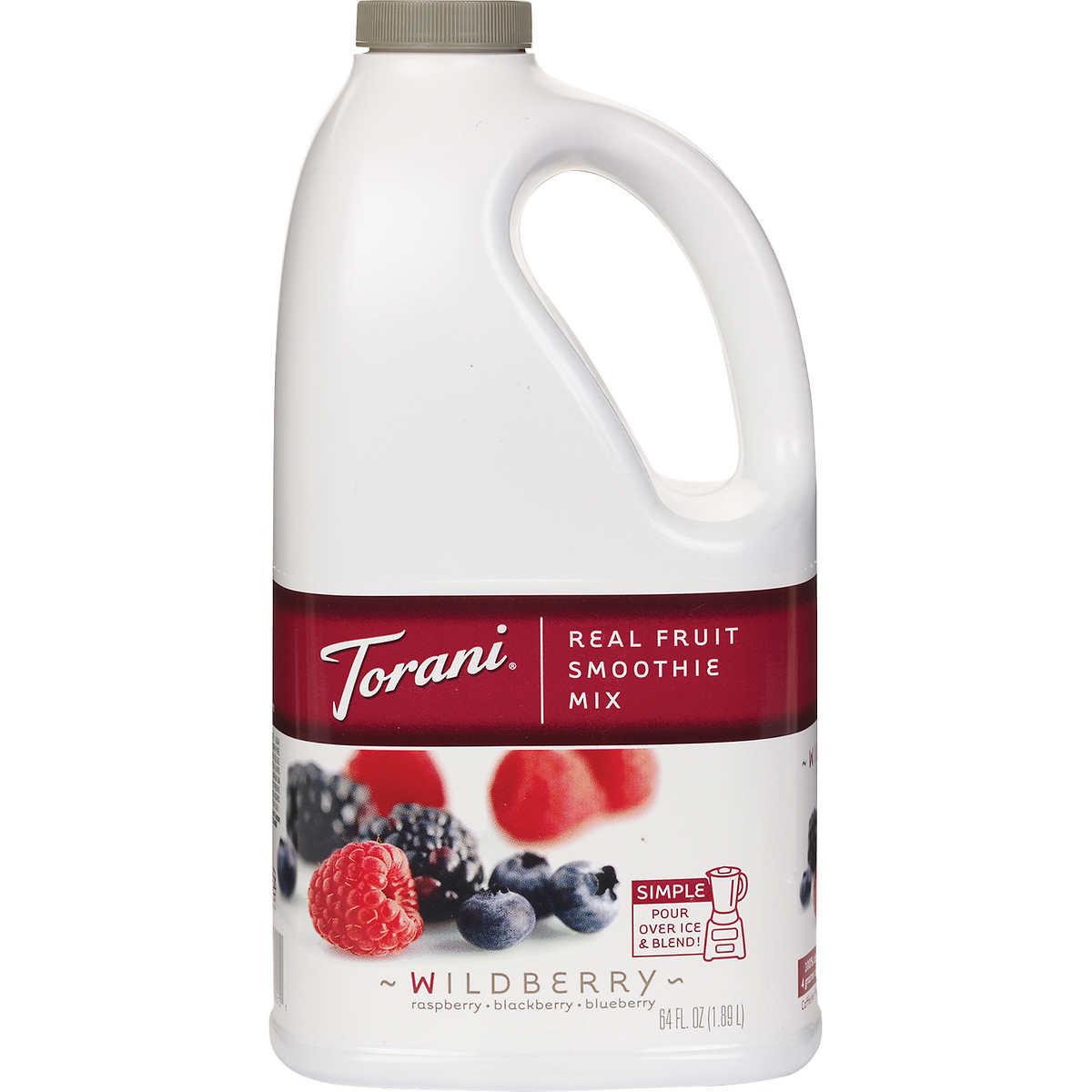 Torani Wildberry Real Fruit Smoothie Mix
