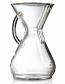 Chemex Glass Handle Series 8 Cup Glass Coffee Maker