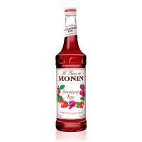 Monin Strawberry Rose Syrup 1L PET Bottle