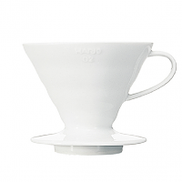 Hario V60 Coffee Dripper Ceramic 02 White
