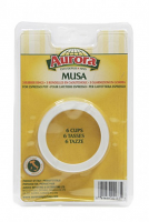 Bialetti Musa 6 Cup Replacement Gasket (3-pack)