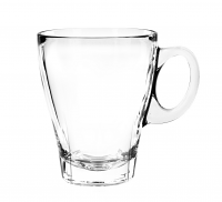 Cuisivin Caffe Americano 12oz Glass Cups Set of 4