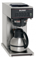 Bunn CW-15 TC Pourover Coffee Brewer for Portable Thermal Servers