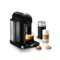 Nespresso Breville VertuoLine MATTE BLACK Bundle with Aeroccino 3