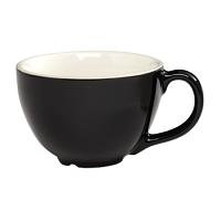 CremaWare 12oz Black Cappuccino Cup
