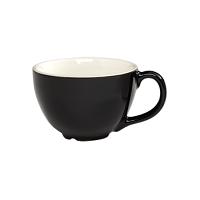 CremaWare 6oz Black Cappuccino Cup