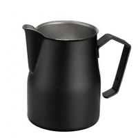 Motta Professional Milk Pitcher MATTE BLACK 50cl. (500ml/17oz) Stainless Steel Inox 18/10