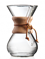 Chemex Classic Series 6 Cup Glass Coffee Maker