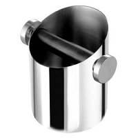 Rocket Logo Stainless Steel Knock Box