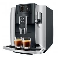 Jura E8 Chrome with Fine Foam Frother G2 Super Automatic Espresso Machine