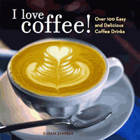 I Love Coffee by Susan Zimmer