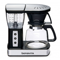 Bonavita BV01002US Glass Carafe Coffee Brewer with Warming Plate