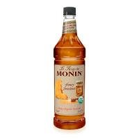 Monin Organic Honey Concentrate 1L PET Bottle
