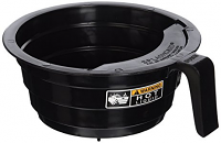 BUNN Brewer Plastic FIlter Basket Funnel with Decal Black 20583.0003