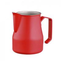 Motta Professional Milk Pitcher MATTE RED 50cl. (500ml/17oz) Stainless Steel Inox 18/10