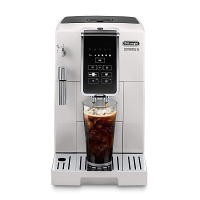DeLonghi ECAM35020W Dinamica TrueBrew Super Automatic Espresso Machine - White