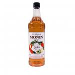 Monin Lychee Syrup 1L Plastic Bottle