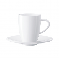 Jura Coffee / Cafe Cups & Saucers Set of 2 - #66499