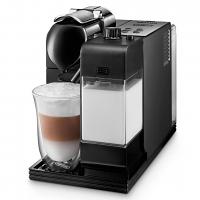 Delonghi Lattissima Plus Nespresso Single Serve Espresso Machine Black