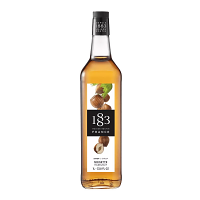 1883 Hazelnut Syrup 1L Glass Bottle