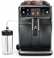 Saeco Xelsis Titanium Metal Front Super Automatic Espresso Machine SM7684/04