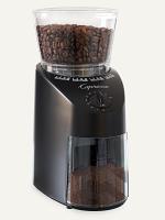 Capresso Infinity Burr Coffee Grinder - Black 560