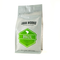 Java Works Single Origin Brazil Whole Beans - 12oz bag
